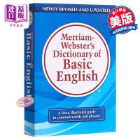 麦林韦氏基础英语 英文原版 Merriam-Webster's Dictionary of Basic English