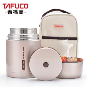 日本泰福高不锈钢真空焖烧杯焖烧壶保温饭盒粥桶男女士提锅