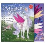 【预订】The Marvelous Book of Magical Horses: Dress Up Paper Ho