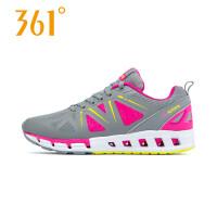 361度女鞋春季新款稳定运动鞋女361夏季轻便透气减震跑步鞋