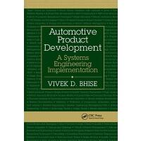 【预订】Automotive Product Development 9780367871857