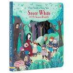 【中商原版】偷偷看童话系列 白雪公主 英文原版 Usborne Peep Inside a Fairy Tale Sn