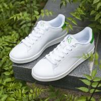 361男鞋绿尾板鞋耐磨运动鞋男白鞋女鞋361情侣休闲防滑板鞋小白鞋