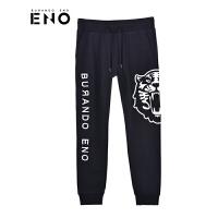 BURANDOENO潮牌新款虎头印花街头风格男士卫裤运动裤E18W81MKPH07