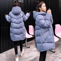 孕妇孕后期大码棉衣冬季棉袄外套2019冬季新款韩版宽松外套