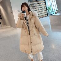 冬季宽松韩版怀孕后期孕妇冬装外套棉衣加厚中长款棉袄
