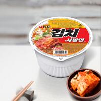 韩国进口食品 农心 辣白菜小碗面86g杯