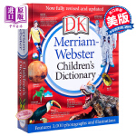 【中商原版】韦氏儿童词典  英文原版 Merriam-Webster Children's Dictionary DK经典麦林 图解词典 英英字典  英英词典 英英辞典