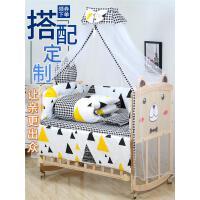 钰贝乐床实木无漆环保宝宝床儿童床新生儿拼接大床婴儿摇篮床