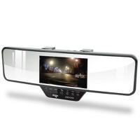 爱国者/aigo C700/1080P全高清摄像广角夜视 蓝牙后视镜行车记录仪