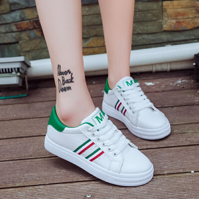ELEISE美国艾蕾莎新品060-2860休闲女士板鞋