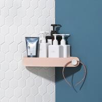 卫生间卫浴三角置物架免钉无痕厨房转角收纳架吸壁式挂架