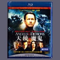 正版高清蓝光电影 天使与魔鬼 BD50光盘碟片 汤姆汉克斯