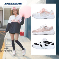 Skehers斯凯奇女鞋甜美风熊猫鞋