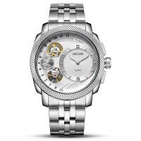 2018新款 美格尔megir男士手表非机械表时尚商务运动镂空手表2091G