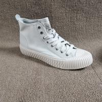 工厂处理女鞋2018秋时尚小白鞋休闲潮流高帮女鞋