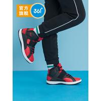 【折后�B券�A估�r:67】361度童鞋男童滑板鞋中大童2020年冬季新品�r尚潮流高�托蓍e鞋N71943701