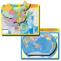 磁力拼图学生版中国和世界(二合一套装)