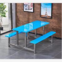 先创XC-ZY121六人位餐桌椅食堂餐桌椅
