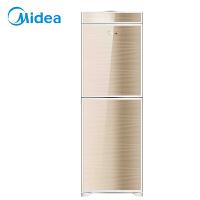 美的(Midea)饮水机 立式钢化玻璃双开门 家用饮水机饮水器 MYR920S-W温热型