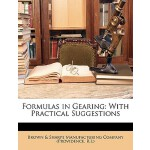 预订 Formulas in Gearing: With Practical Suggestions [ISBN:97