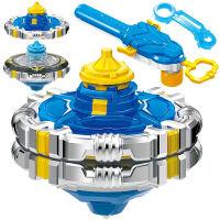 奥迪双钻陀螺玩具新款儿童拉线战斗王之飓风战魂5发光旋转陀螺3