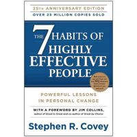 英文原版 高效能人士的七个习惯 The 7 Habits of Highly Effective People: Po