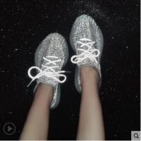 满天星反光运动鞋女百搭休闲鞋女网红椰子鞋潮流仙女鞋夜光鞋