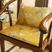中式红木椅子坐垫沙发椅垫古典实木家具圈椅坐垫餐椅太师椅垫防滑