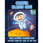 预订 Carter Blasts Off! Space Activities Coloring Book: Solve
