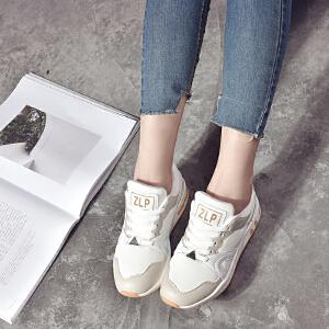 ELEISE美国艾蕾莎新品059-B-17002休闲网布女士休闲鞋