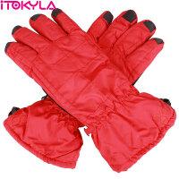 ITOKYLA 享i 冰水沁心系列 女式丝滑透气耐磨登山户外骑行保暖滑雪手套 加长护腕版 系列三