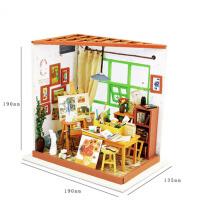 拼图拼装模型手工小屋立体七夕礼物女生创意凯西花房