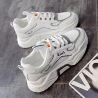 老爹女鞋子2019秋鞋小白运动鞋女跑步鞋ins学生百搭潮鞋秋款