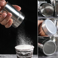 面粉筛子 不锈钢翻糖糖粉筛 diy可可粉筛 抹茶粉筛面粉筒筛过粉筛