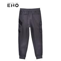 BURANDOENO潮牌新品男士卫裤时尚潮流束口休闲裤E18W61MWP084
