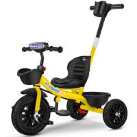 永久儿童三轮车手推脚踏车1-3-2-6岁大号宝宝自行车童车小孩玩具