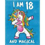 预订 Unicorn B Day: I am 18 & Magical Unicorn birthday eighte