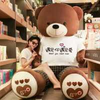 特大号抱抱熊毛绒玩具女布娃娃泰迪熊猫公仔大号超大可爱大熊礼物