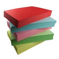 70克彩色复印纸 彩色打印纸 手工纸 手工折纸 彩色纸 儿童益智剪纸彩纸500张1包 A3