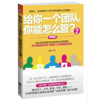 给你一个团队,你能怎么管?2(pdf+txt+epub+azw3+mobi电子书在线阅读下载)