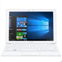 三星Tab Pro W700 二合一12英寸Windows平板电脑笔记本电脑 黑色/白色
