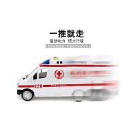 音乐救护车玩具 儿童玩具车救护车模型120车带音乐警笛声大号尺寸
