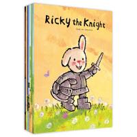 Ricky Series Collection 折耳兔奇奇好棒系列 (全8册,比利时国宝级童书)