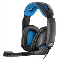 森海塞尔(Sennheiser)GSP 300 专业封闭式游戏耳机骨灰 玩家 黑色