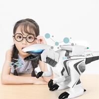 【满100立减10】遥控机器人玩具 电动恐龙智能编程机械人儿童跳舞霸王龙