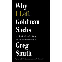 【中商原版】英文原版 Why I Left Goldman Sachs: A Wall Street Story 我为什么离开高盛