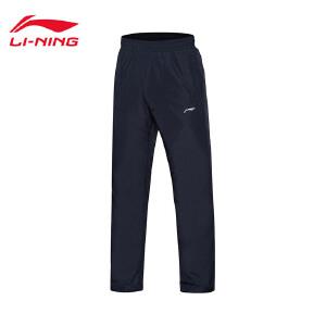李宁棉裤男士夹棉裤类训练系列防风透湿保暖冬季运动裤AKMM023