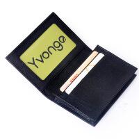 Yvonge韵歌卡套包名片夹男士牛皮卡包真皮卡夹名片包商务礼盒卡套*包银行卡套