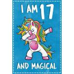 预订 Unicorn B Day: I am 17 & Magical Unicorn birthday sevent